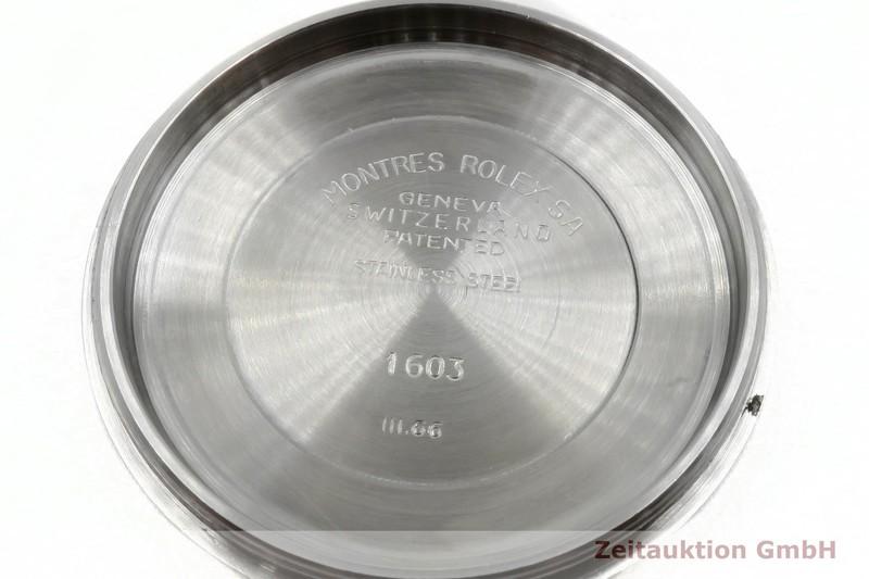 gebrauchte Luxusuhr Rolex Datejust Stahl Automatik Kal. 1570 Ref. 1603 VINTAGE  | 2003930 _1
