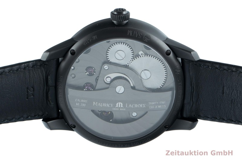gebrauchte Luxusuhr Maurice Lacroix Masterpiece Stahl Automatik Kal. ML230 Ref. MP6118 LIMITED EDITION   2003935 _1