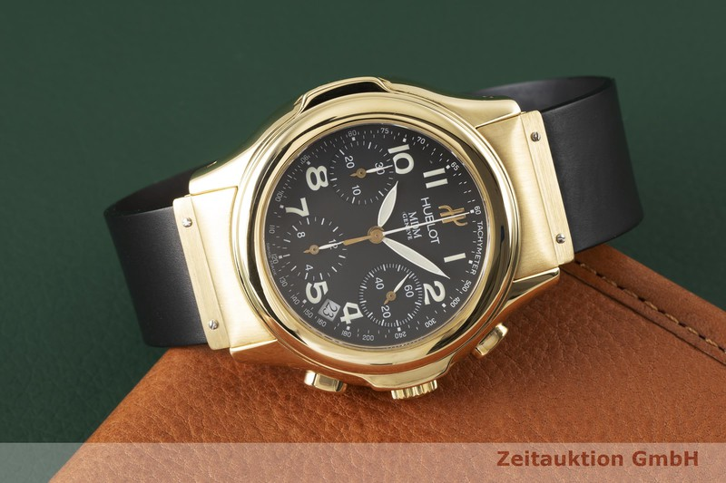 gebrauchte Luxusuhr Hublot MDM Chronograph 18k Gold Automatik Ref. 1810.3  | 2003936 _1