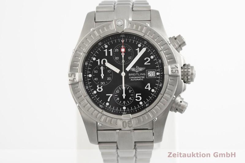 gebrauchte Luxusuhr Breitling Avenger Chronograph Titan Automatik Kal. B13, ETA 7750 Ref. E13360  | 2003941 _1