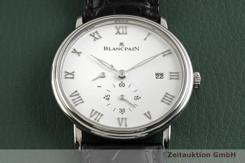 gebrauchte Luxusuhr Blancpain Villeret Stahl Handaufzug Kal. 11C5 Ref. 6606 1127 55B  | 2003945 _1