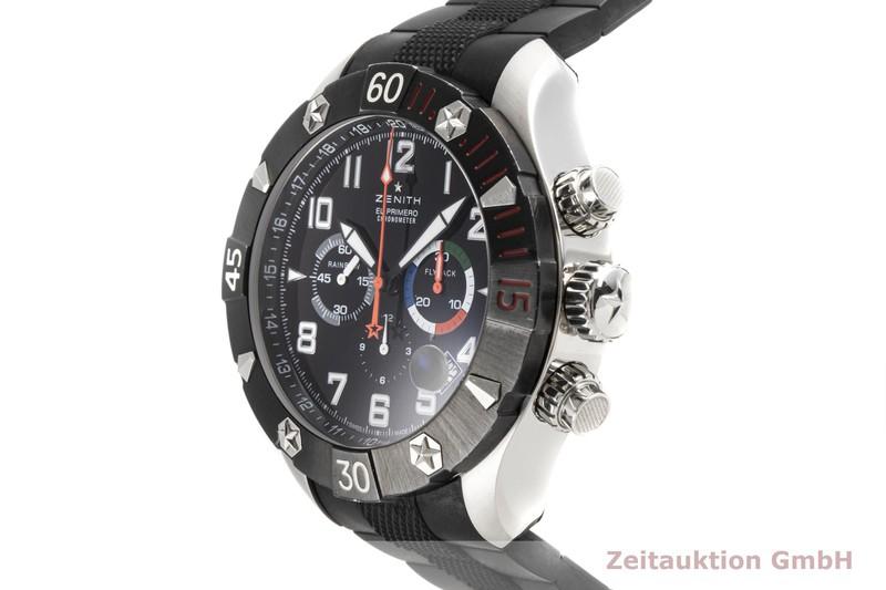 gebrauchte Luxusuhr Zenith El Primero Chronograph Stahl Automatik Kal. 4000FC Ref. 03.0527.4000  | 2003946 _0