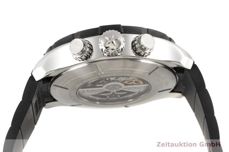 gebrauchte Luxusuhr Zenith El Primero Chronograph Stahl Automatik Kal. 4000FC Ref. 03.0527.4000  | 2003946 _1
