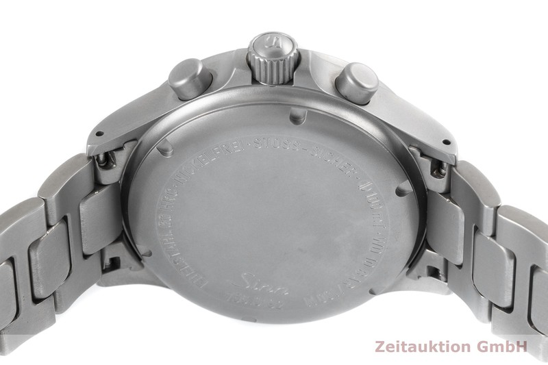 gebrauchte Luxusuhr Sinn 756 Chronograph Stahl Automatik Kal. ETA 7750 Ref. 756  | 2003953 _0