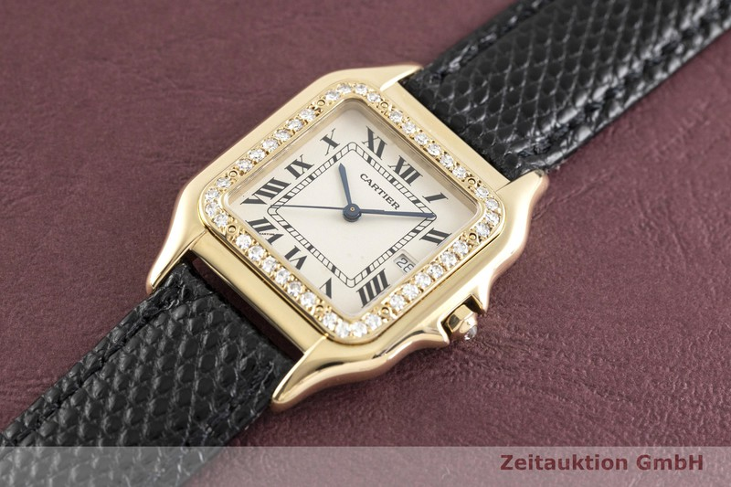 gebrauchte Luxusuhr Cartier Panthere 18k Gold Quarz Kal. 83  | 2003957 _0