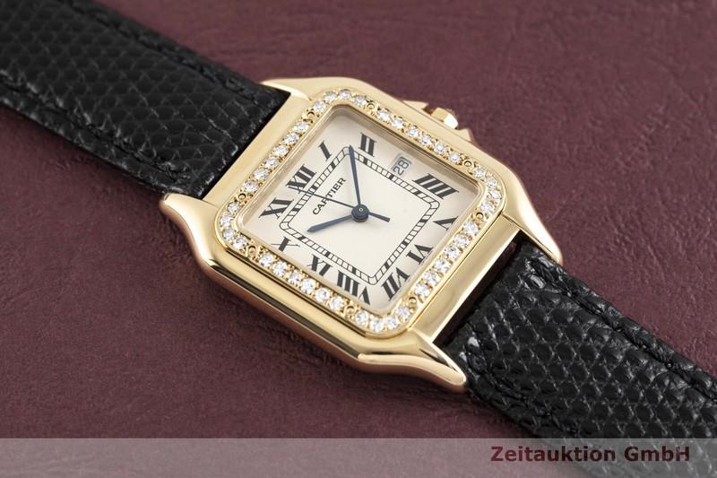 gebrauchte Luxusuhr Cartier Panthere 18k Gold Quarz Kal. 83  | 2003957 _1
