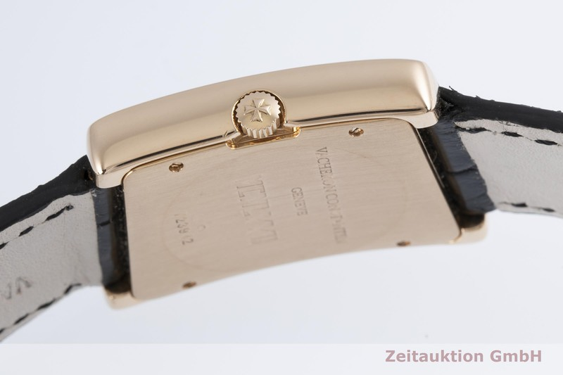 gebrauchte Luxusuhr Vacheron & Constantin 1972 Prestige 18k Rotgold Handaufzug Kal. 1055 Ref. 37010  | 2003984 _1