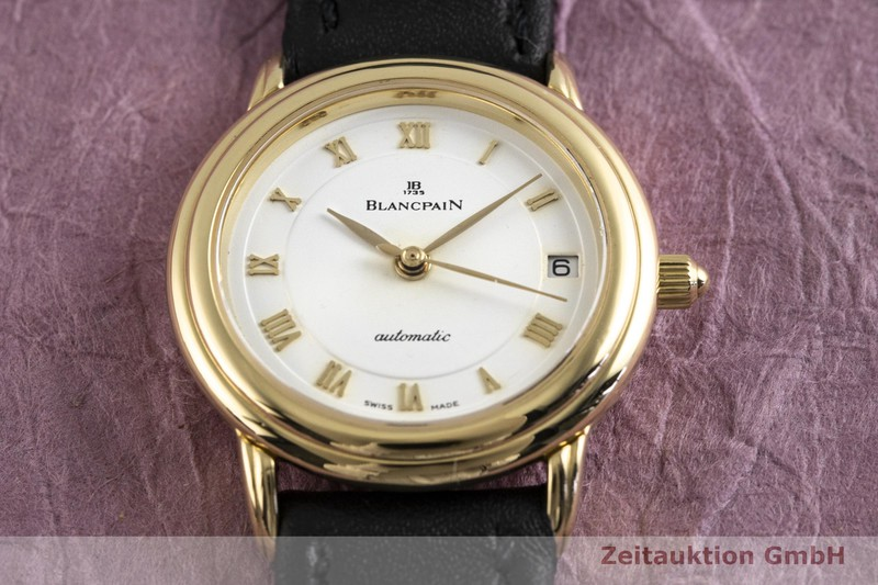 gebrauchte Luxusuhr Blancpain Villeret 18k Gold Automatik Kal. 951  | 2004001 _1