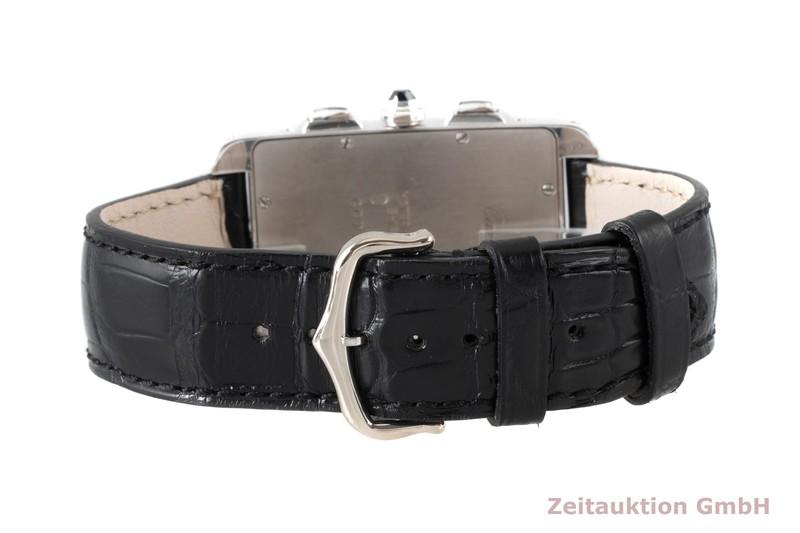 gebrauchte Luxusuhr Cartier Tank Américaine Chronograph 18k Weissgold Quarz Kal. 212P Ref. 2312  | 2004021 _0