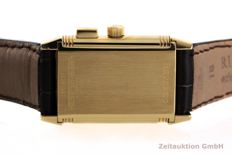 gebrauchte Luxusuhr Jaeger LeCoultre Reverso 18k Gold Handaufzug Kal. 862 Ref. 255.1.82  | 2004023 _0