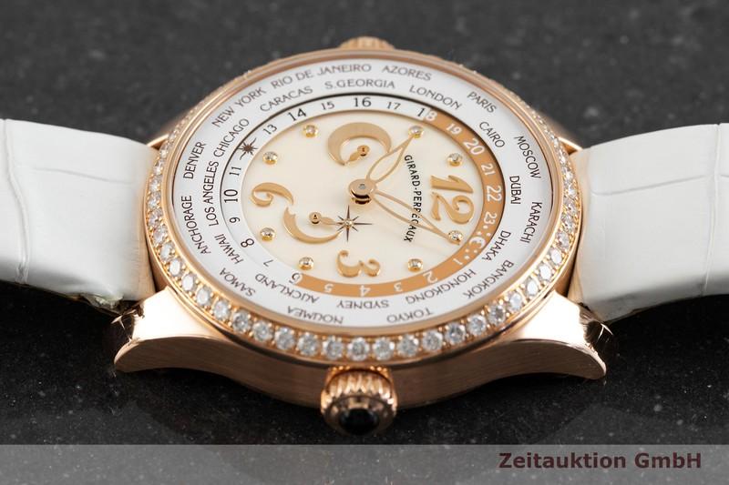 gebrauchte Luxusuhr Girard Perregaux World Time 18k Rotgold Automatik Kal. 33G0.9 Ref. 49860    2004033 _0