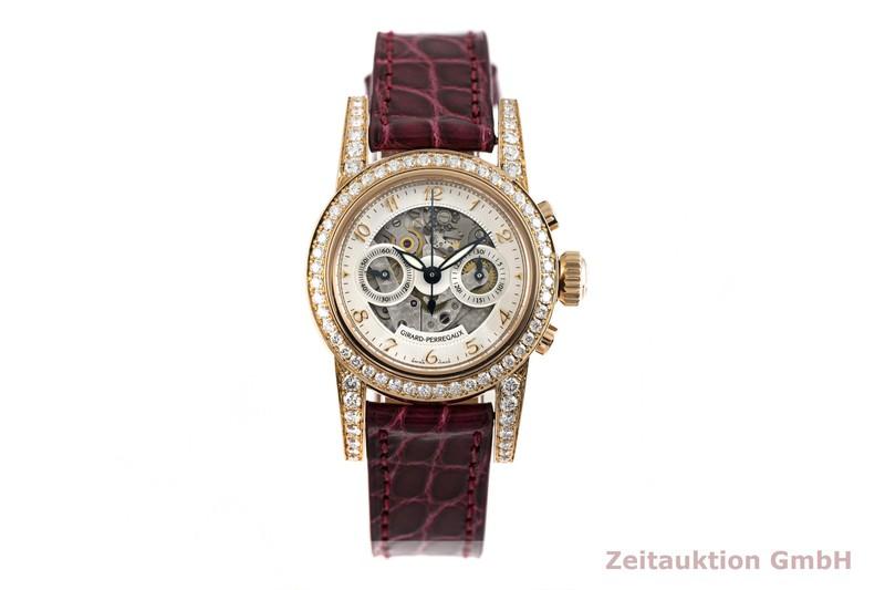 gebrauchte Luxusuhr Girard Perregaux 1966 Chronograph 18k Rotgold Automatik Kal. 3080 Ref. 8046  | 2004034 _1