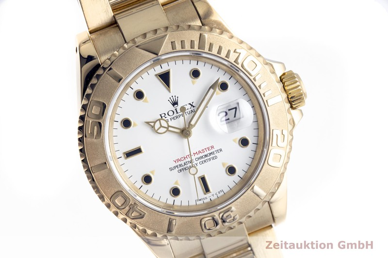 gebrauchte Luxusuhr Rolex Yacht-Master 18k Gold Automatik Kal. 3135 Ref. 16628  | 2004036 _0