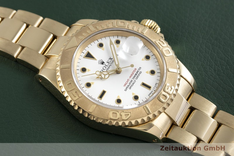 gebrauchte Luxusuhr Rolex Yacht-Master 18k Gold Automatik Kal. 3135 Ref. 16628  | 2004036 _1