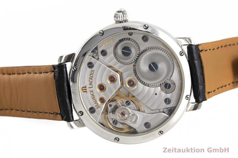 gebrauchte Luxusuhr Maurice Lacroix Masterpiece Stahl Handaufzug Kal. ML76, ETA 6498-1 Ref. 76840  | 2004042 _0