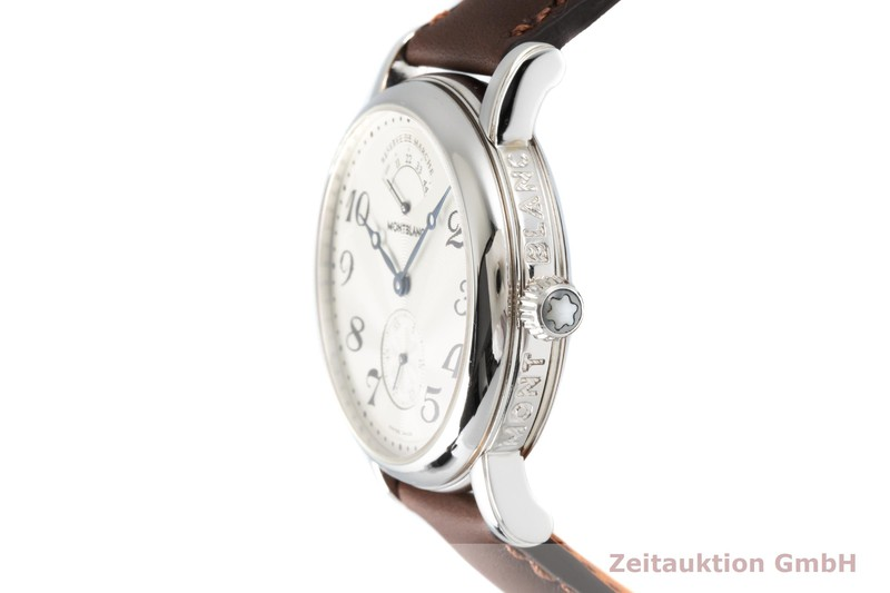 gebrauchte Luxusuhr Montblanc Meisterstück Stahl Handaufzug Kal. 4810901 Ref. 7022  | 2004065 _0