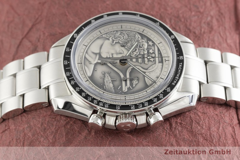 gebrauchte Luxusuhr Omega Speedmaster Moonwatch Chronograph Stahl Handaufzug Kal. 1861 Ref. 311.30.42.30.99.002 LIMITED EDITION | 2004071 _0