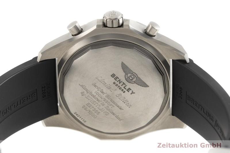 gebrauchte Luxusuhr Breitling Bentley Chronograph Titan Automatik Kal. B27B, ETA 2892-A2 Ref. E27365 LIMITED EDITION | 2004097 _0