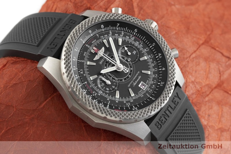 gebrauchte Luxusuhr Breitling Bentley Chronograph Titan Automatik Kal. B27B, ETA 2892-A2 Ref. E27365 LIMITED EDITION | 2004097 _1