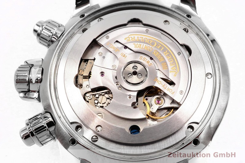 gebrauchte Luxusuhr Jaeger LeCoultre Master Compressor Chronograph Stahl Automatik Kal. 751 Ref. 146.8.25  | 2004114 _0