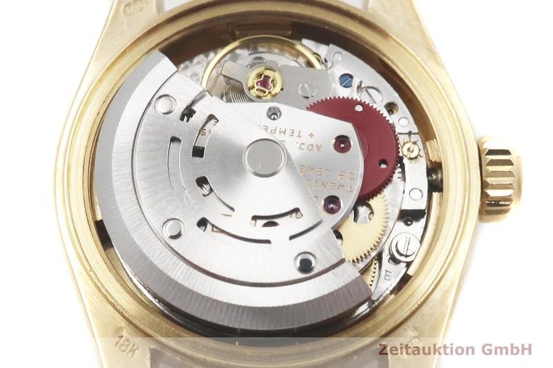 gebrauchte Luxusuhr Rolex Lady Datejust 18k Gold Automatik Kal. 2135 Ref. 69178  | 2004119 _0