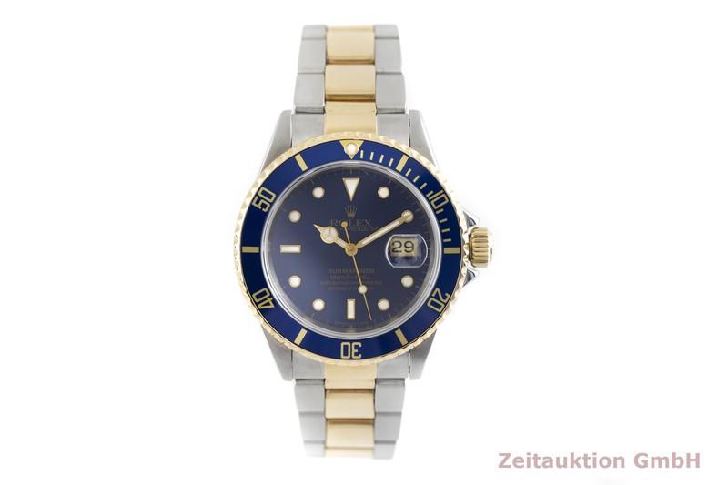 gebrauchte Luxusuhr Rolex Submariner Stahl / Gold Automatik Kal. 3135 Ref. 16613  | 2004120 _1