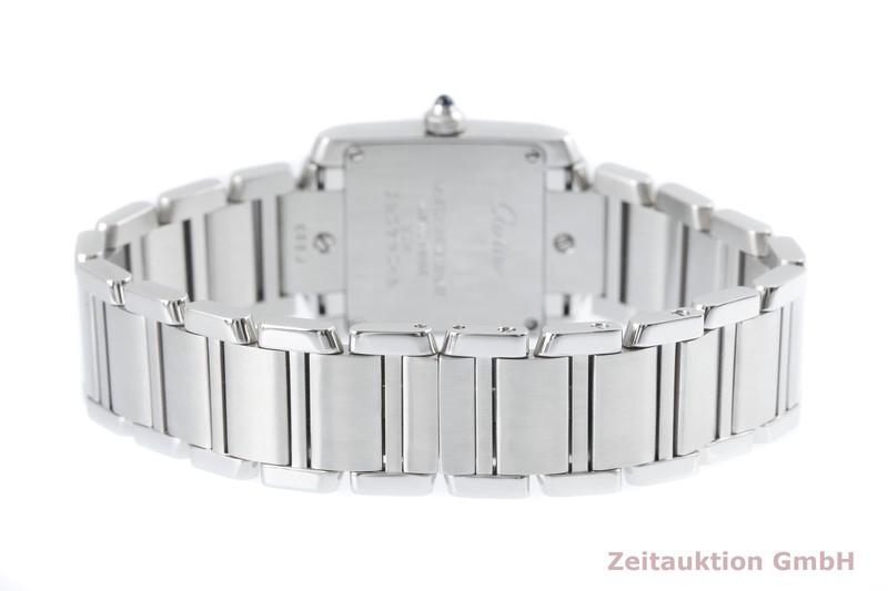 gebrauchte Luxusuhr Cartier Tank Francaise Stahl Quarz Kal. 057 Ref. 2384  | 2004121 _0