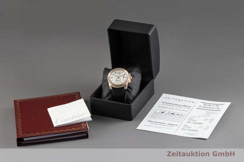 gebrauchte Luxusuhr Cartier Calibre de Cartier 18k Rotgold Automatik Kal. 1904-PS Ref. 3300  | 2004125 _0