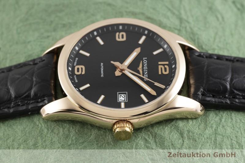 gebrauchte Luxusuhr Longines Conquest 18k Rotgold Automatik Kal. L619.2, ETA 2892-A2 Ref. L2.785.8  | 2004132 _0