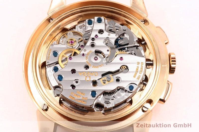 gebrauchte Luxusuhr Omega Museum Chronograph 18k Gold Handaufzug Kal. 3201A Ref. 516.53.39.50.02.001, 147.2008 LIMITED EDITION | 2004139 _0