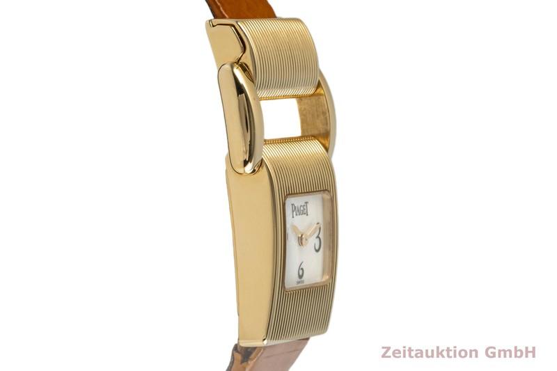 gebrauchte Luxusuhr Piaget Protocol 18k Gold Quarz Kal. 57P Ref. 5221    2004150 _0