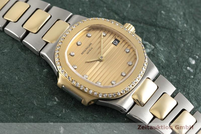 gebrauchte Luxusuhr Patek Philippe Nautilus Stahl / Gold Quarz Kal. E19 C Ref. 4700/2  | 2004152 _1
