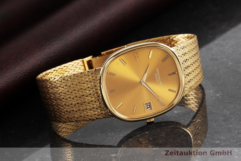 gebrauchte Luxusuhr Patek Philippe Ellipse 18k Gold Automatik Kal. 28-255C Ref. 3605/1    2004174 _1