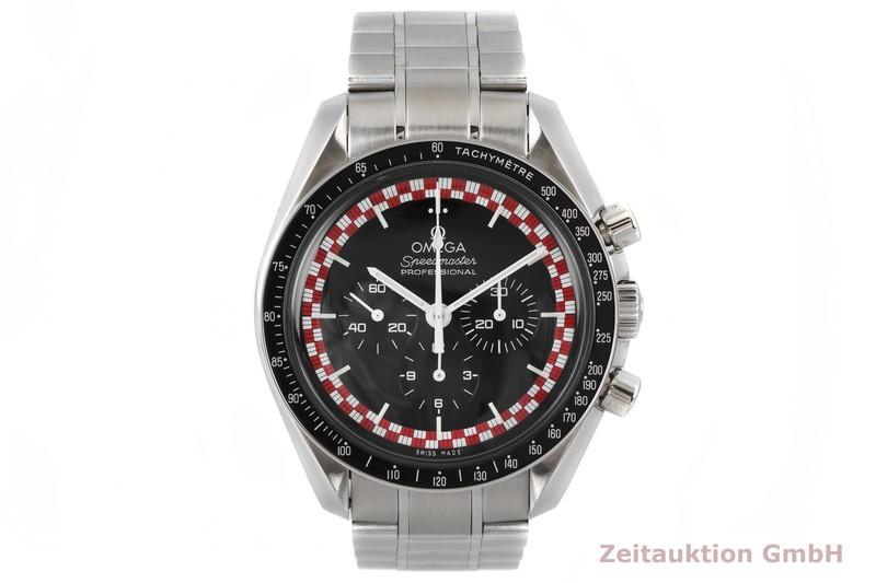 gebrauchte Luxusuhr Omega Speedmaster Chronograph Stahl Handaufzug Kal. 1861 Ref. 145.0051  | 2004186 _1