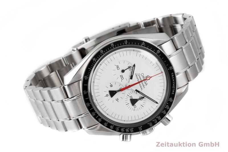 gebrauchte Luxusuhr Omega Speedmaster Chronograph Stahl Handaufzug Kal. 1861 Ref. 311.32.42.30.04.001 / 145.0302  LIMITED EDITION   2004191 _0