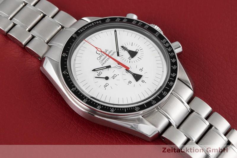 gebrauchte Luxusuhr Omega Speedmaster Chronograph Stahl Handaufzug Kal. 1861 Ref. 311.32.42.30.04.001 / 145.0302  LIMITED EDITION   2004191 _1