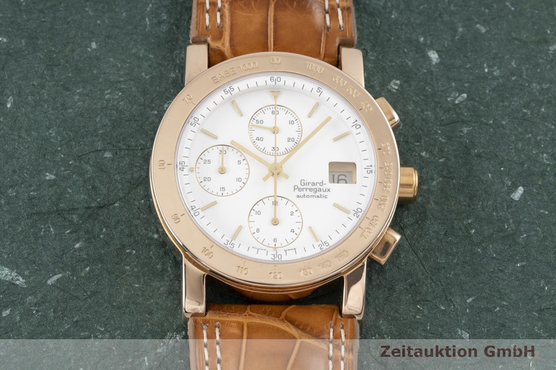 gebrauchte Luxusuhr Girard Perregaux 7000 Chronograph 18k Rotgold Automatik Kal. 800-814 Ref. 7000GBM  | 2004201 _1