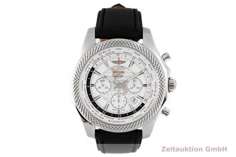 gebrauchte Luxusuhr Breitling Bentley Chronograph Stahl Automatik Kal. B05 Ref. AB0521  | 2004204 _1