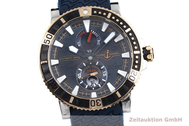 gebrauchte Luxusuhr Ulysse Nardin Hammerhead Shark Stahl / Gold Automatik Kal. UN026-057145, ETA 2892-A2 Ref. 265-91 LIMITED EDITION | 2004226 _0