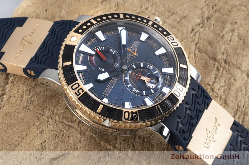 gebrauchte Luxusuhr Ulysse Nardin Hammerhead Shark Stahl / Gold Automatik Kal. UN026-057145, ETA 2892-A2 Ref. 265-91 LIMITED EDITION | 2004226 _1