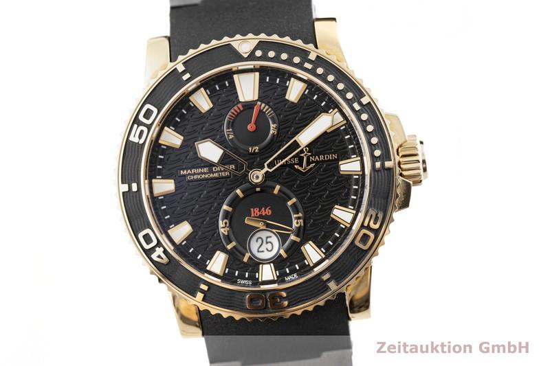 gebrauchte Luxusuhr Ulysse Nardin Marine Chronometer 18k Gold Automatik Kal. UN026-231230, ETA 2892-A2 Ref. 266-33    2004231 _0