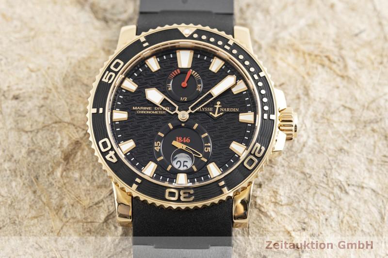 gebrauchte Luxusuhr Ulysse Nardin Marine Chronometer 18k Gold Automatik Kal. UN026-231230, ETA 2892-A2 Ref. 266-33    2004231 _1