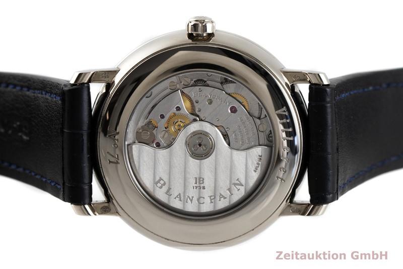 gebrauchte Luxusuhr Blancpain Villeret 18k Weissgold Automatik Kal. 5L60 Ref. 6260-1542-55B  | 2004240 _0