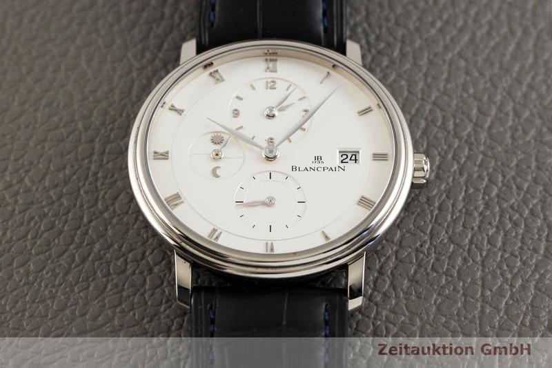gebrauchte Luxusuhr Blancpain Villeret 18k Weissgold Automatik Kal. 5L60 Ref. 6260-1542-55B  | 2004240 _1