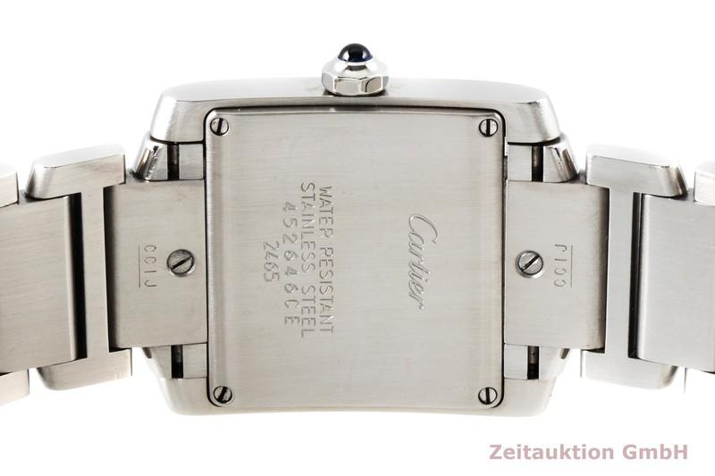 gebrauchte Luxusuhr Cartier Tank Francaise Stahl Quarz Kal. 175L Ref. 2465  | 2004255 _0
