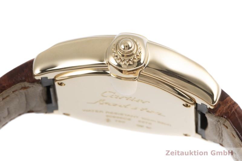 gebrauchte Luxusuhr Cartier Roadster 18k Gold Quarz Kal. 688 Ref. 2676    2004257 _0