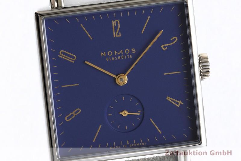 gebrauchte Luxusuhr Nomos Tetra Nachtijall Stahl Handaufzug Kal. Alpha Ref. 490  | 2004270 _0