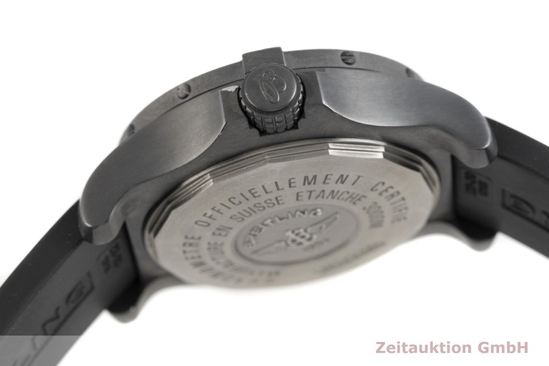 gebrauchte Luxusuhr Breitling Avenger Seawolf Stahl Automatik Kal. B17, ETA 2824-2 Ref. M17330 LIMITED EDITION | 2004273 _0