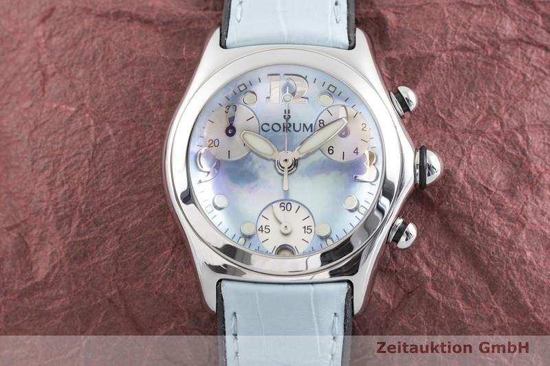 gebrauchte Luxusuhr Corum Bubble Chronograph Stahl Quarz Ref. 196.250.20  | 2004282 _1