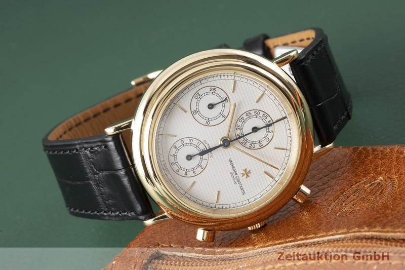 gebrauchte Luxusuhr Vacheron & Constantin Historiques Chronograph 18k Gold Automatik Kal. 1126 Ref. 47001  | 2004285 _1